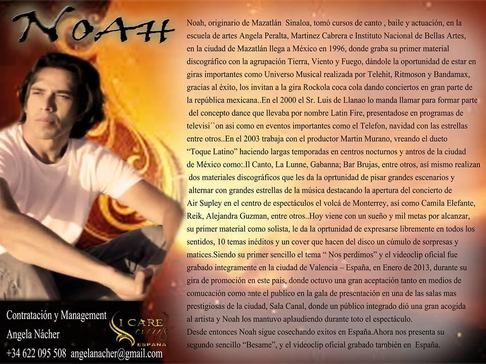 Biografia Noah