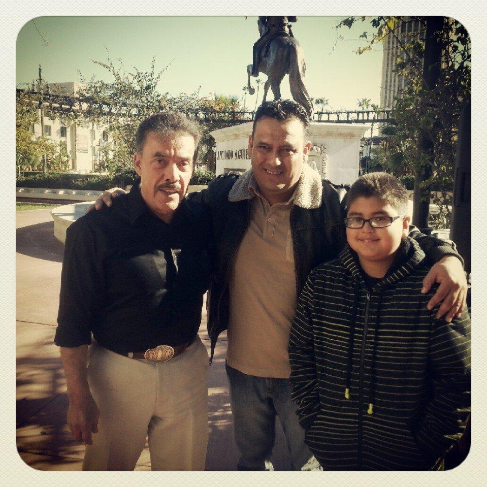Con el señoron don pedro Rivera..!!