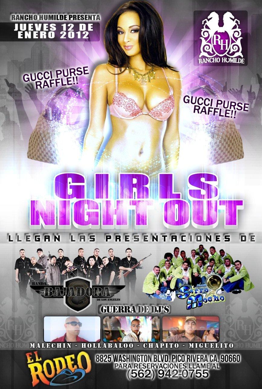 LADIES NIGHT OUT...Enero 12, 2012